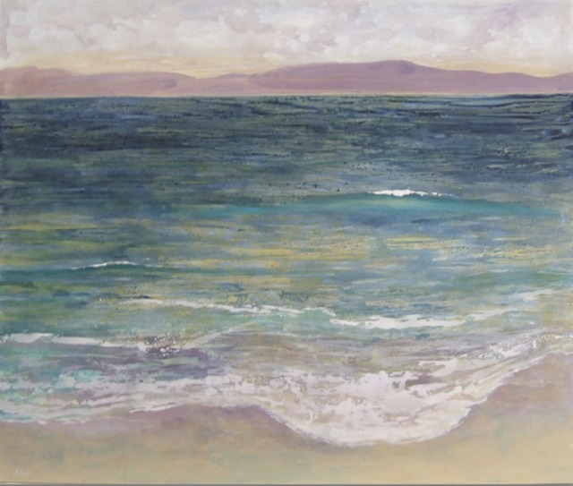 Morning Ocean 160x120cm-SOLD