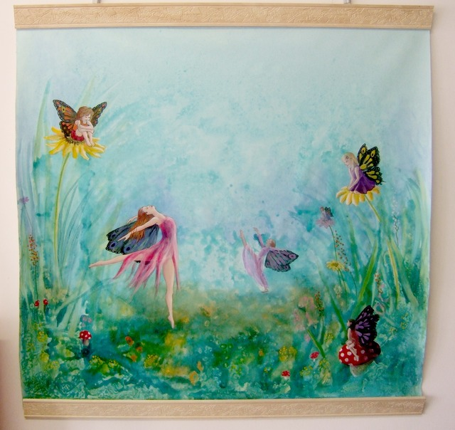 portable fairy mural-large file